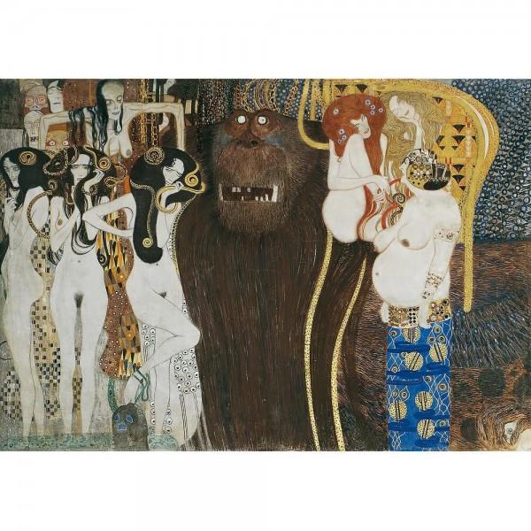 Fregio di Beethoven, Klimt - Sklep Art Puzzle