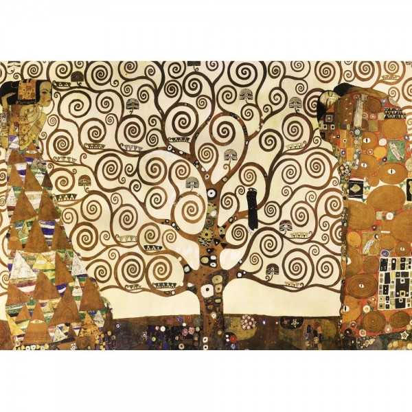 Drzewo życia, Klimt (2000el.) - Sklep Art Puzzle