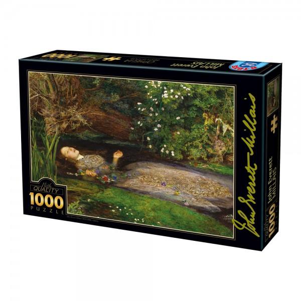 Ophelia,Millais - Sklep Art Puzzle