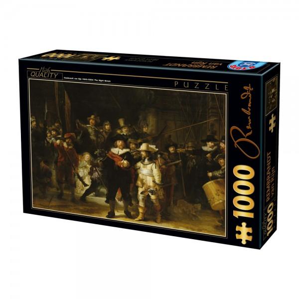 Nocna straż , Rembrandt - Sklep Art Puzzle