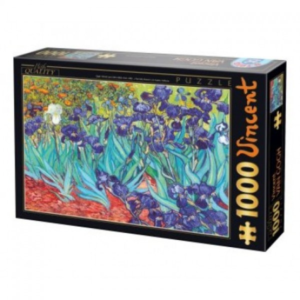 Irysy, Van Gogh - Sklep Art Puzzle