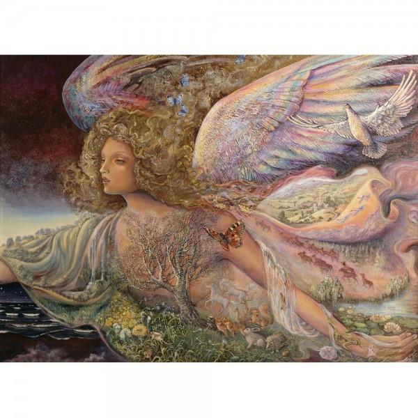 Anioł stróż (2000el.) - Sklep Art Puzzle