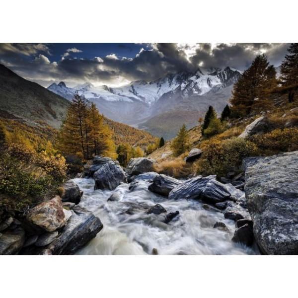 Górski potok, Aleksander von Humboldt - Sklep Art Puzzle