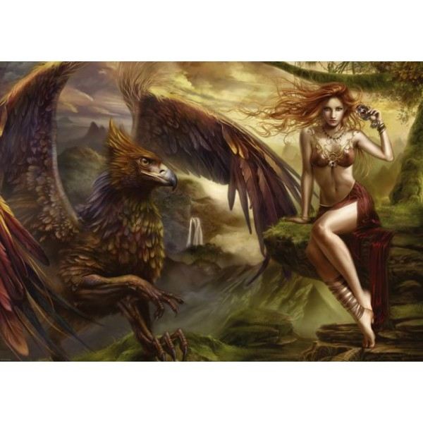 Ruda piękność, Ortega Cris - Sklep Art Puzzle