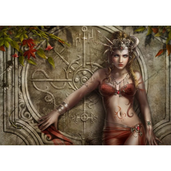 Cris Ortega, Kamienna róża (1000el.) - Sklep Art Puzzle