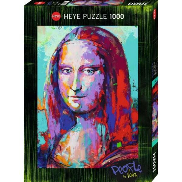 Mona Lisa, Voka (1000el.) - Sklep Art Puzzle