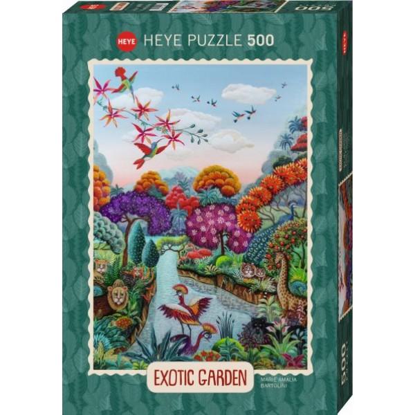 Egzotyczny ogród, Raj (500el.) - Sklep Art Puzzle