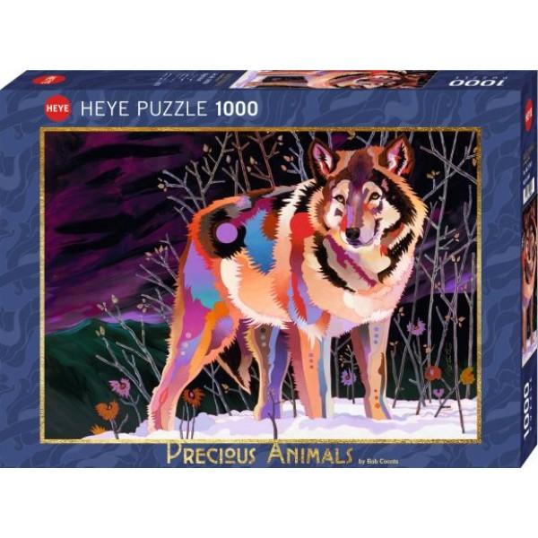 Cenne zwierzęta, Wilk (1000el.) - Sklep Art Puzzle