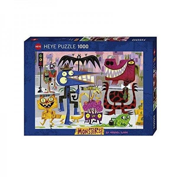Miasto potworów - Sklep Art Puzzle
