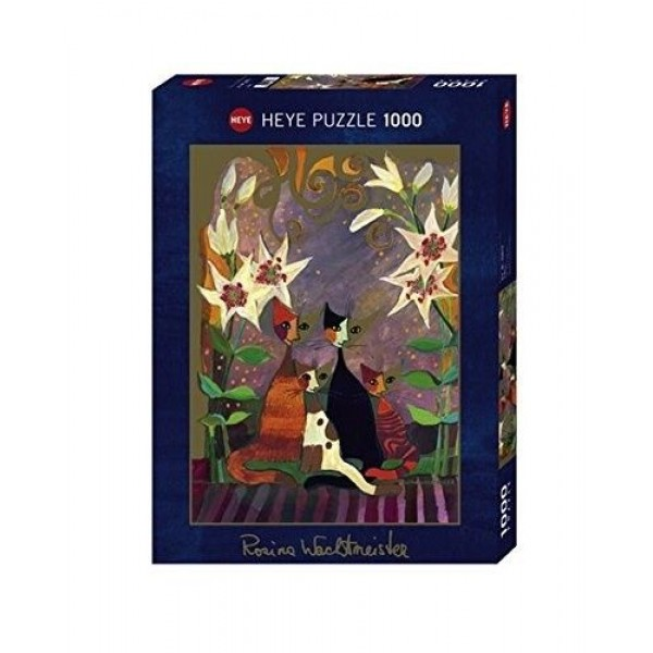 Kotki i lilie - Sklep Art Puzzle