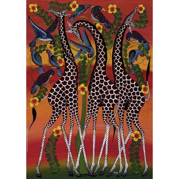 Żyrafy, Tinga Tinga - Sklep Art Puzzle