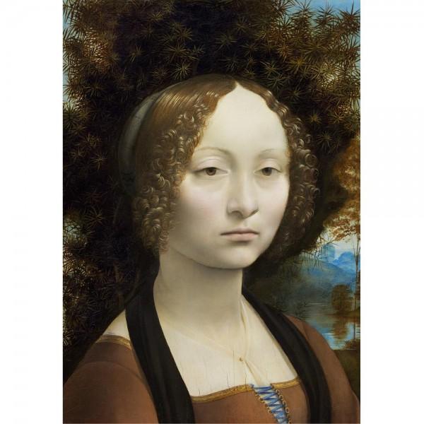 Genewa de Benci, Da Vinci  - Sklep Art Puzzle
