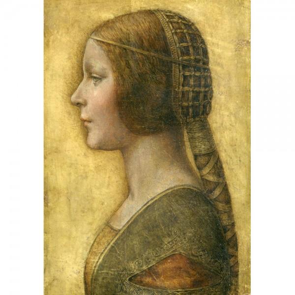 Profil młodej księżniczki, Da Vinci - Sklep Art Puzzle
