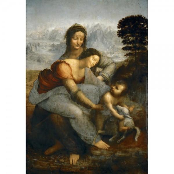 Święta Anna, Da Vinci - Sklep Art Puzzle