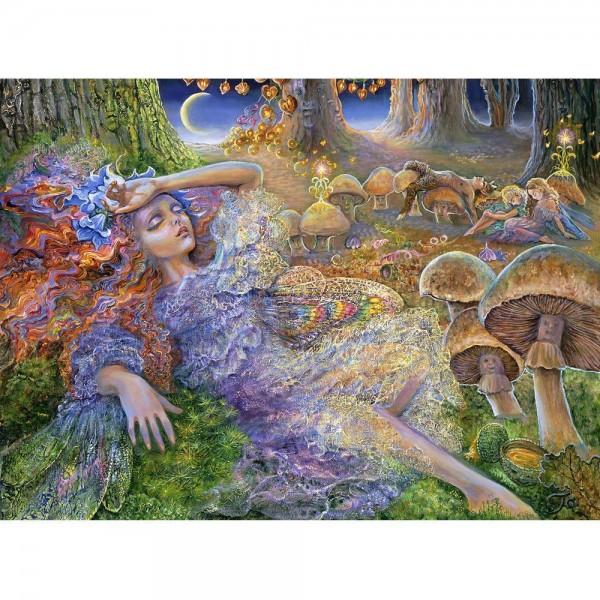 Zmęczona wróżka, Josephine Wall (2000el.) - Sklep Art Puzzle