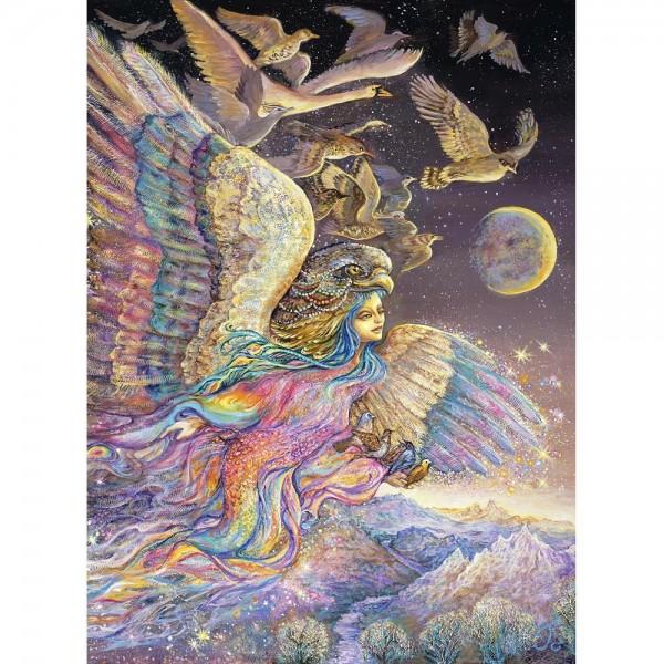 Anioł z przyjaciółmi, Josephine Wall (2000el.) - Sklep Art Puzzle