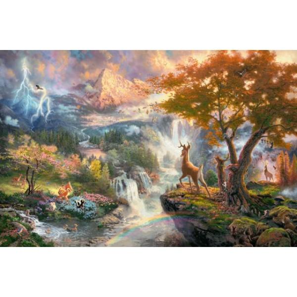 Bambi, Kinkade - Sklep Art Puzzle