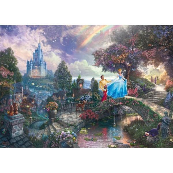 Kopciuszek, Kinkade - Sklep Art Puzzle
