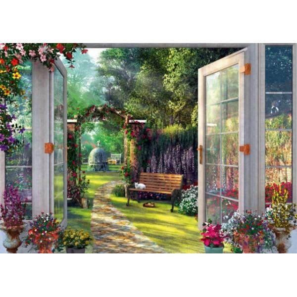 Pokój z widokiem na ogród - Sklep Art Puzzle