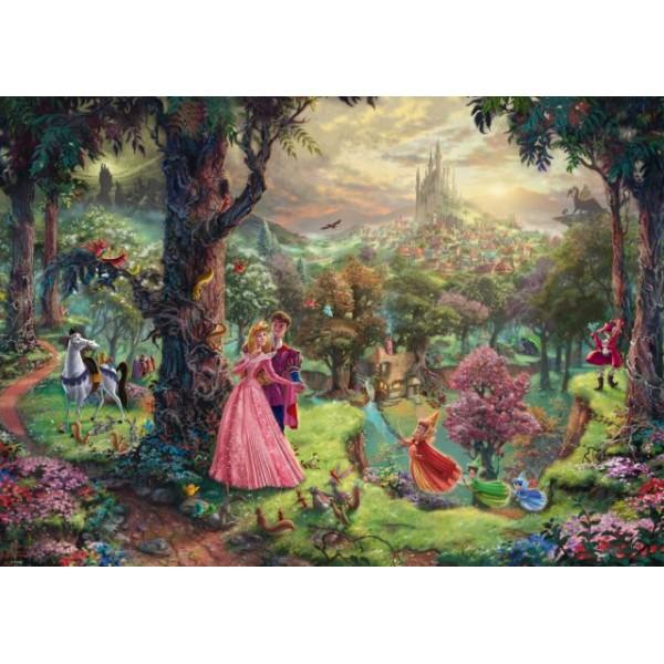 Śpiąca królewna, Kinkade - Sklep Art Puzzle