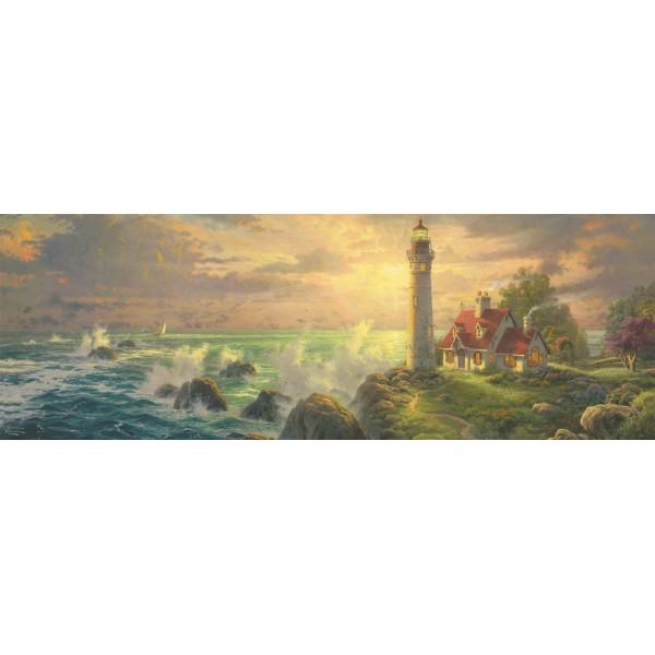 Dom nad morzem, Kinkade - Sklep Art Puzzle