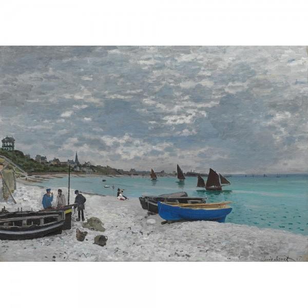 Plaża w Sainte-Adresse, Monet - Sklep Art Puzzle