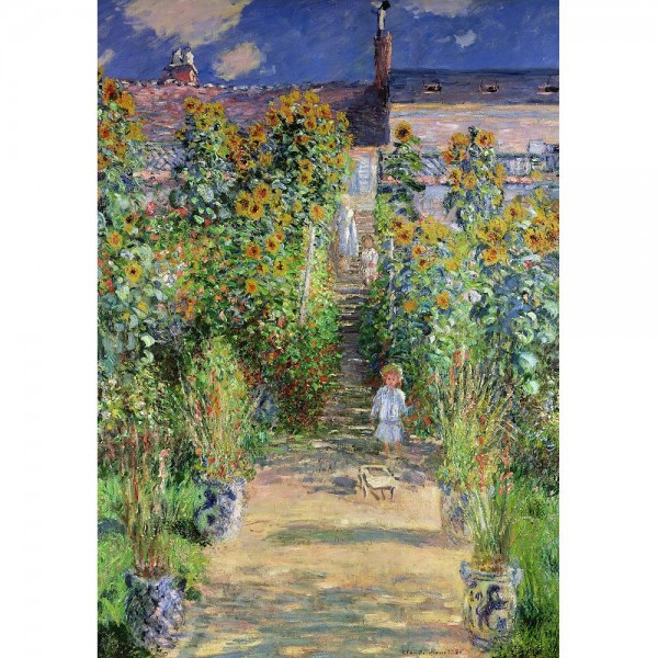 Ogród Moneta w Vetheuil, Monet - Sklep Art Puzzle