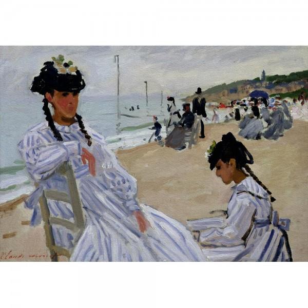 Plaża w Trouville, Monet - Sklep Art Puzzle