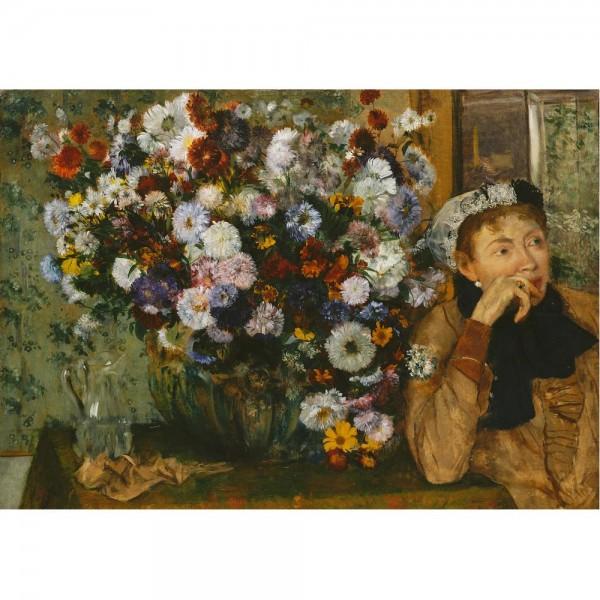 Bukiet kwiatów, Degas - Sklep Art Puzzle