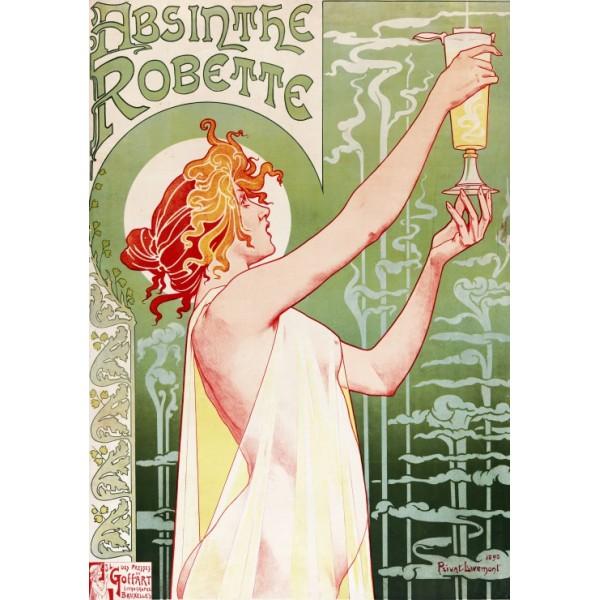 Absinthe Robette, 1896 (1000el.) - Sklep Art Puzzle