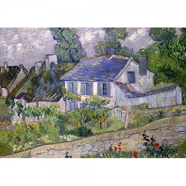 Chata w Auvers, Van Gogh - Sklep Art Puzzle