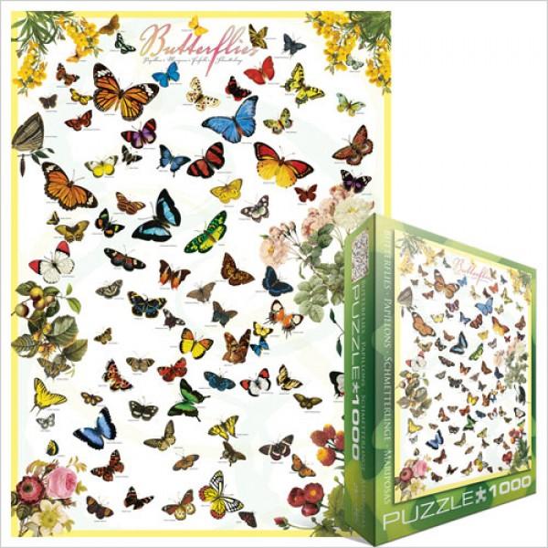 Motyle (1000el.) - Sklep Art Puzzle