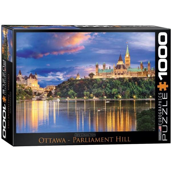 Kanada, Ottawa- Parlament nocą (1000el.) - Sklep Art Puzzle
