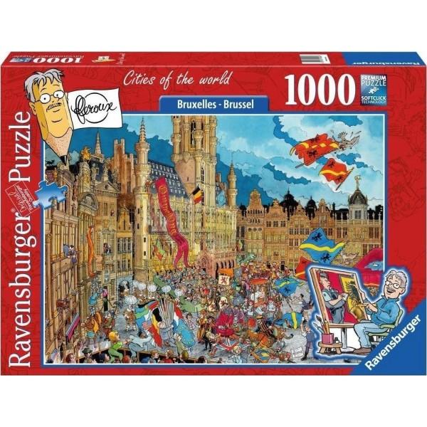 Belgia, Bruksela (1000el.) - Sklep Art Puzzle