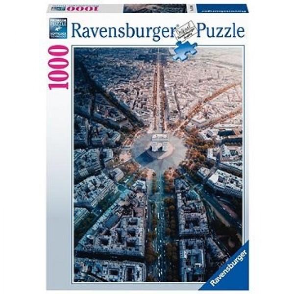 Francja, Widok na Paryż (1000el.) - Sklep Art Puzzle