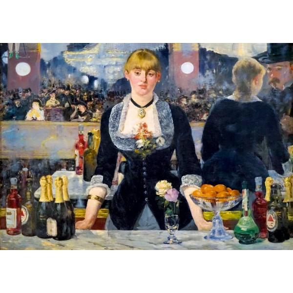 Bar w Folies-Bergère,Édouard Manet,1882 - Sklep Art Puzzle