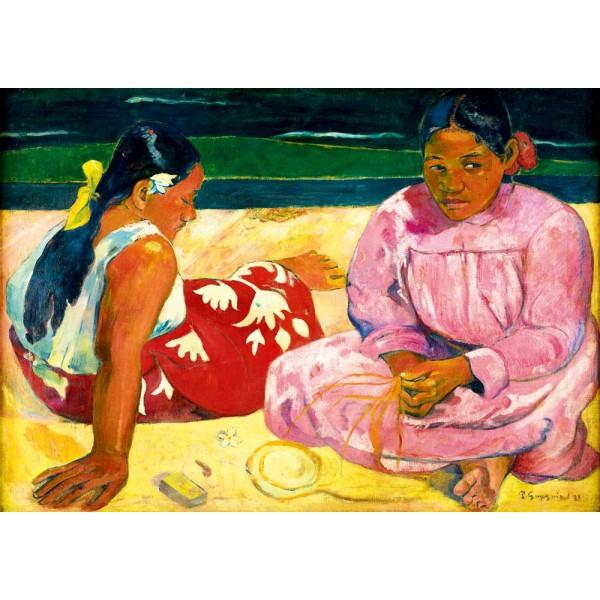 Kobiety na plaży, Gauguin, 1891 (1000el.) - Sklep Art Puzzle