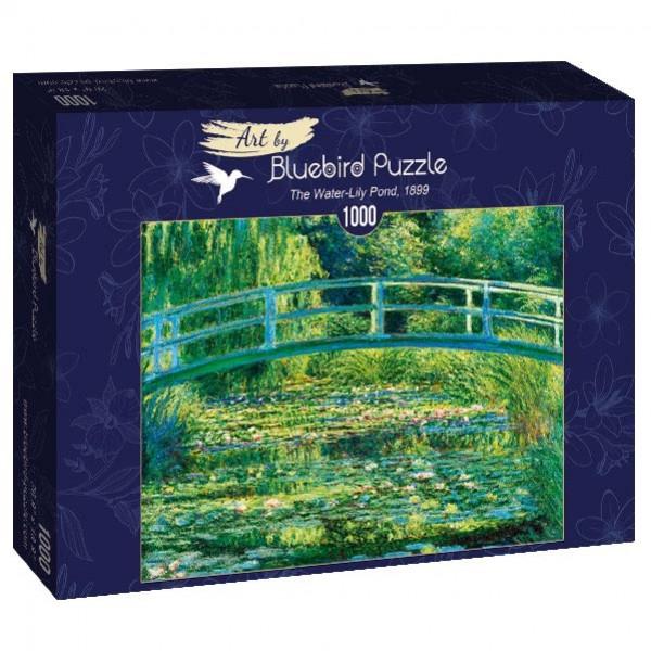 Japoński mostek, Claude Monet ,1899 (1000el.) - Sklep Art Puzzle