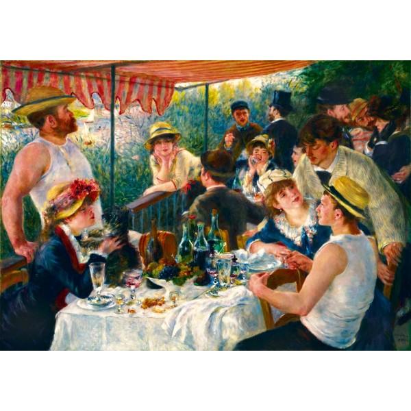 Śniadanie wioślarzy, Renoir, 1881 (1000el.)  - Sklep Art Puzzle