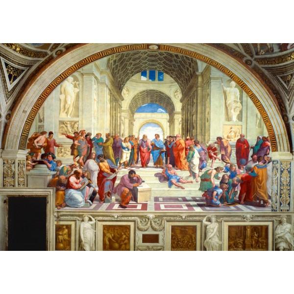 Szkoła Ateńska, Raphael, 1511 (1000el.) - Sklep Art Puzzle