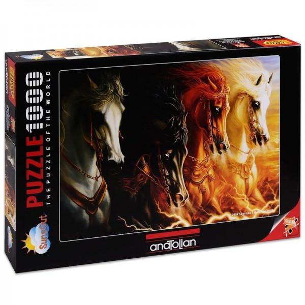 Cztery konie Apokalipsy (1000el.) - Sklep Art Puzzle