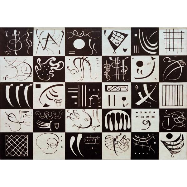 Trzydzieści, Kandinsky,1937 (1000el.) - Sklep Art Puzzle