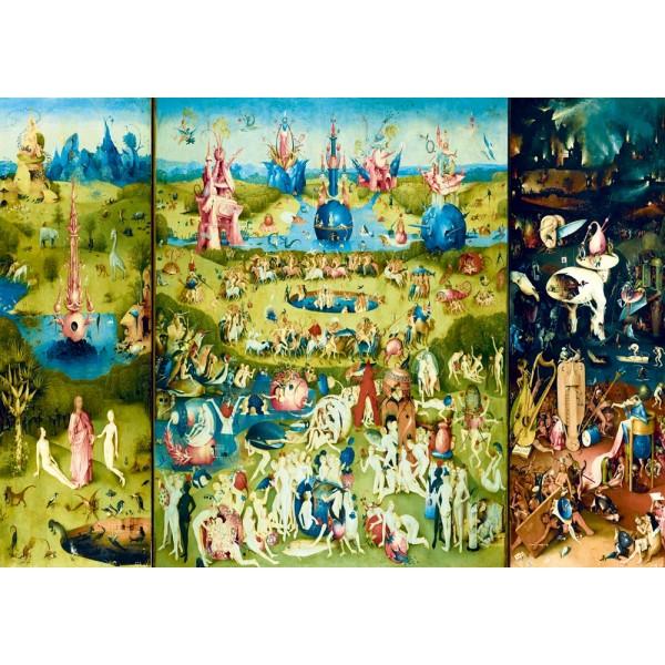 Ogród ziemskich rozkoszy-Tryptyk, Bosch (1000el.) - Sklep Art Puzzle