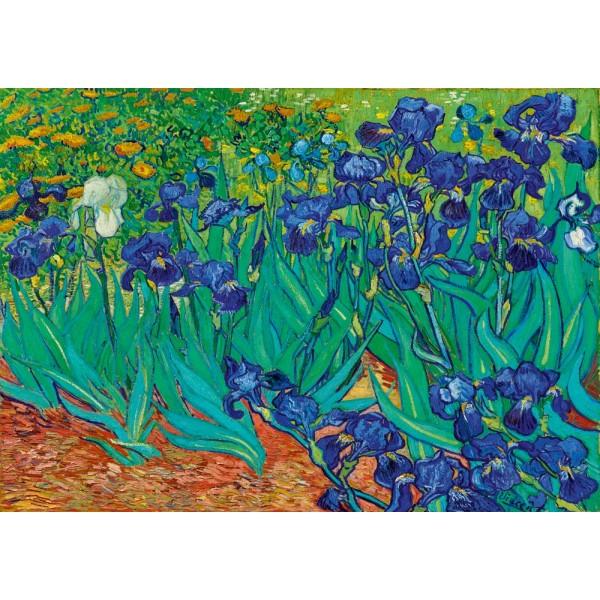 Irysy, Vincent van Gogh, 1889 (1000el.) - Sklep Art Puzzle