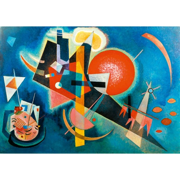 Niebieski , Kandinsky, 1905 (1000el.) - Sklep Art Puzzle