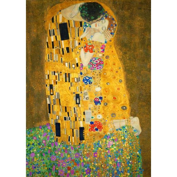 Pocałunek, Gustav Klimt, 1908 (1000el.) - Sklep Art Puzzle