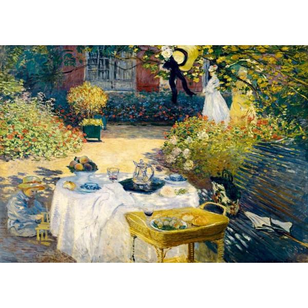 Śniadanie, Claude Monet, 1873 (1000el.) - Sklep Art Puzzle
