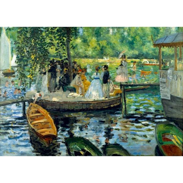 Spotkanie nad rzeką, Renoir, 1869 (1000el.) - Sklep Art Puzzle