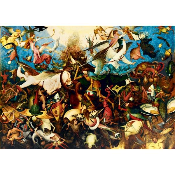 Upadek zbuntowanych aniołów, Brueghel, 1562 (1000el.) - Sklep Art Puzzle