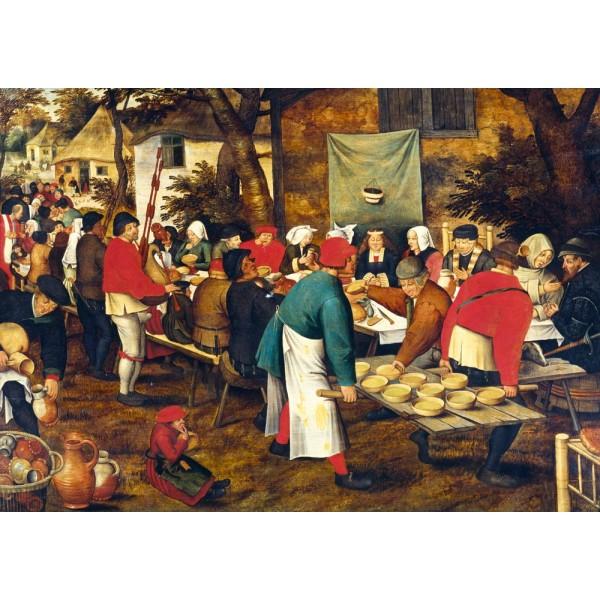 Chłopskie wesele, Brueghel (1000el.) - Sklep Art Puzzle